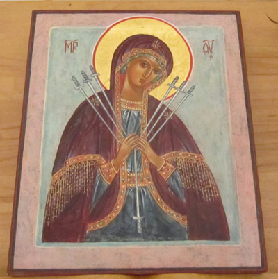 'Semistrelnaya' Icon of the Most Holy Mother of God